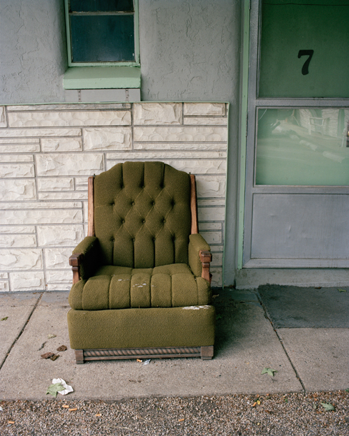 Green Chair, Kalamazoo, Michigan, 2007