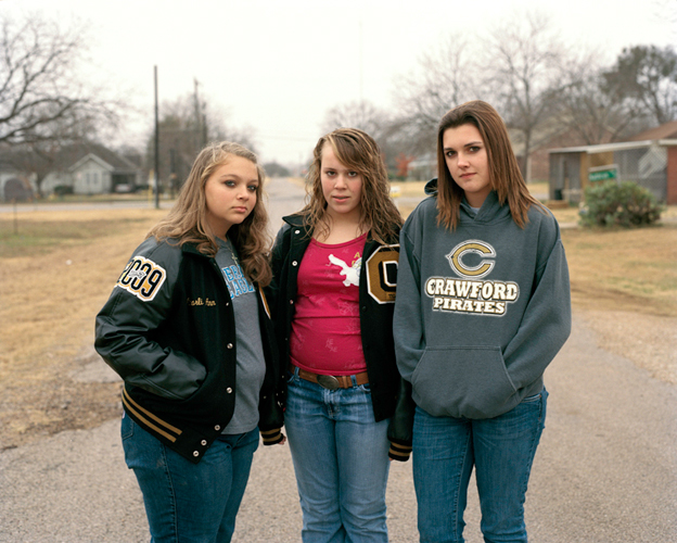 Mary, Perri, and Kendall, Crawford, Texas, 2008
