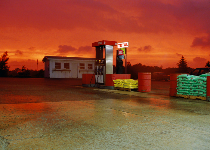 Gas Station, Michigan, 2000
