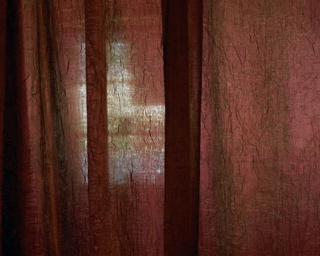 Red Curtain, Dream Catchers Sleep Lab, Dripping Springs, Texas, 2007