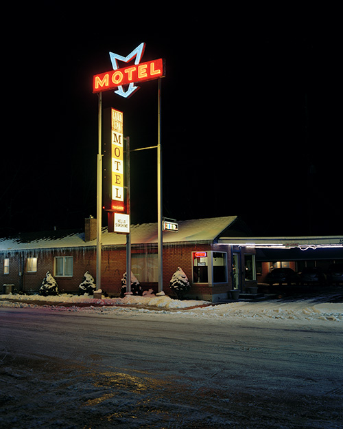 Motel, Lava Hot Springs, Idaho, 2015