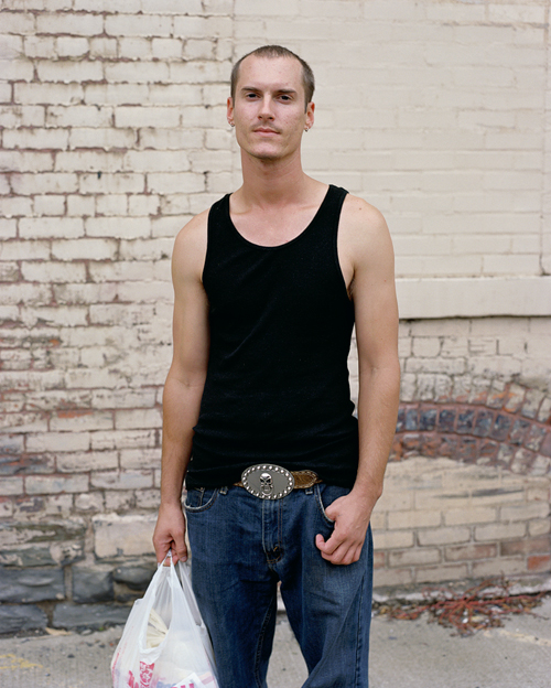 Justin, Greyhound Bus Station, Binghamton, New York, 2008