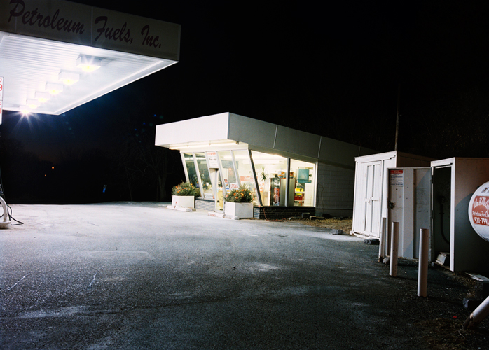 Winter Gas Station, Minnesota, 2003