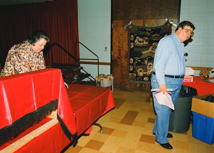 Officials, Knights of Columbus, Joliet, Illinois, 2000