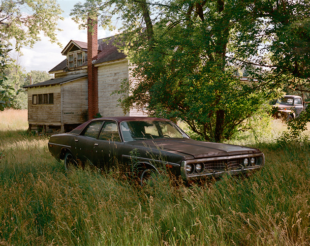 Brown Dodge, County Route 9, New York, 2016