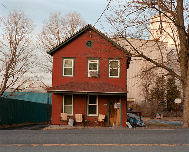 Red House, Columbia Turnpike, Hudson, New York, 2016