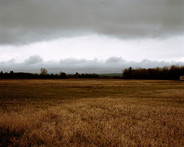 Storm Clouds over Fields, Livingston, New York, 2016