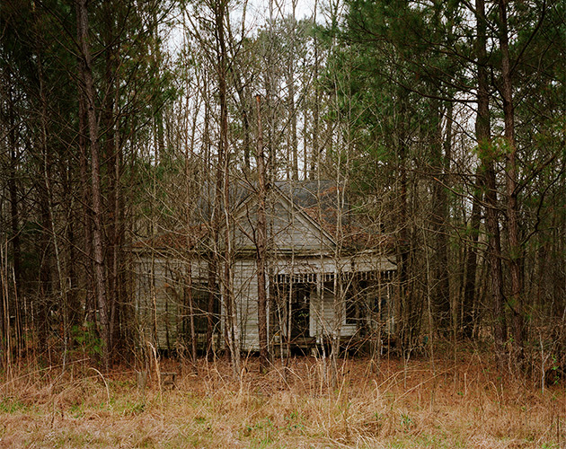Abandoned House, William Faulkner Memorial Highway, Mississippi, 2020