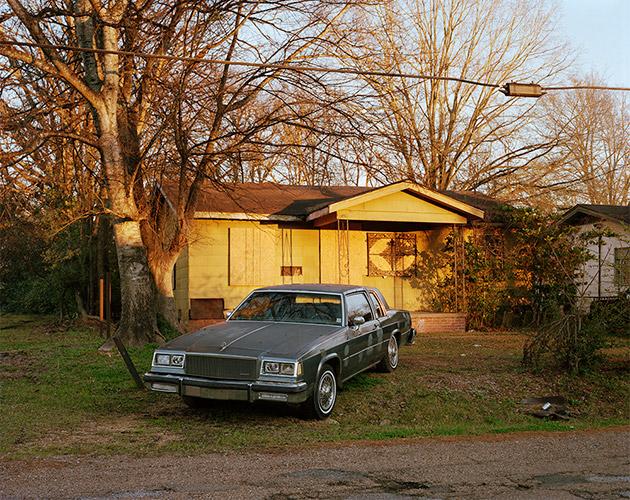 Silver Car, Elraine Subdivision, Jackson, Mississippi, 2020