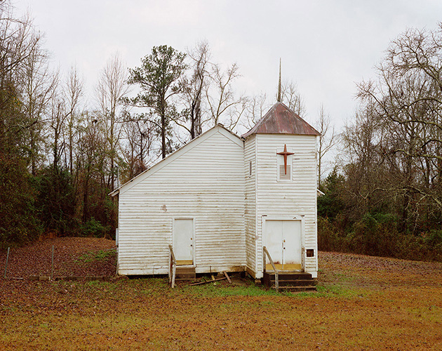 Church, Highway 47, Alabama, 2018