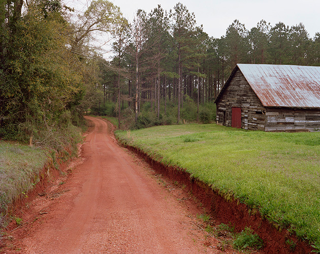 Red Clay Driveway, Perdue Hill, Alabama, 2019