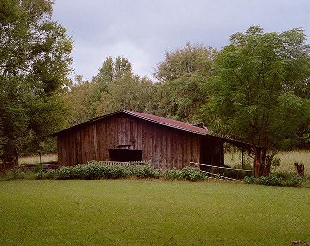 Flannery O'Connor's Horse Barn, Andalusia Farm, Milledgeville, Georgia, 2018