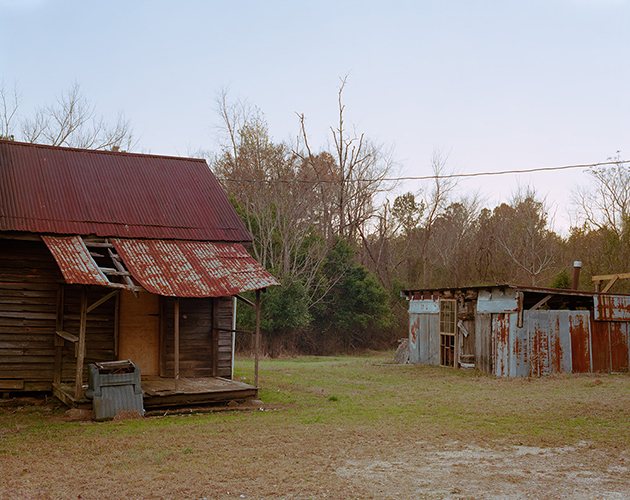 Shacks, Sparta Highway, Georgia, 2018