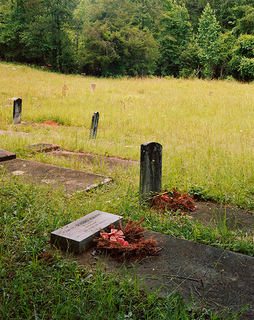 Wards Chapel Cemetery where Alice Walker's Parents and Ancestors are Buried, Eatonton, Georgia, 2020