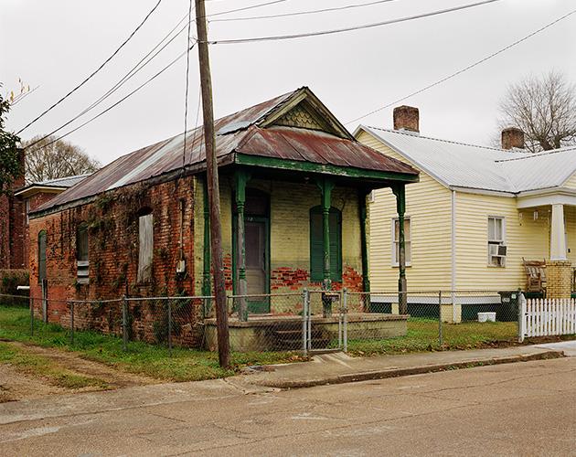 East Woodlawn Avenue where Richard Wright Grew Up, Natchez, Mississippi, 2020