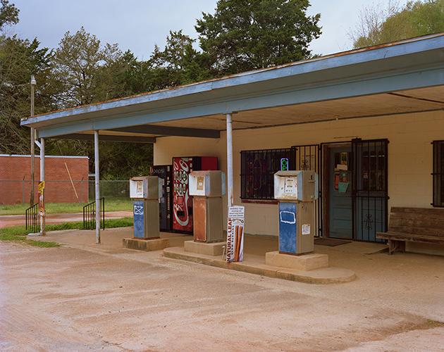 Gas Station Pumps, Gosport, Alabama, 2019