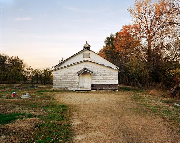 Pawpaw Church, Highway 6, Mississippi, 2020