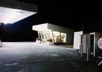Winter Gas Station, Minnesota, 2003 thumbnail