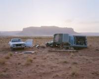 Car Skeletons, Highway 163, Arizona, 2008 thumbnail