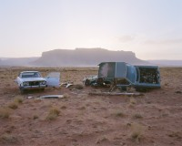 Car Skeletons, Highway 163, Arizona, 2008 thumbnail