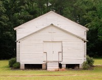 Wards Chapel A.M.E. Church where Alice Walker was Baptized, Eatonton, Georgia, 2020 thumbnail